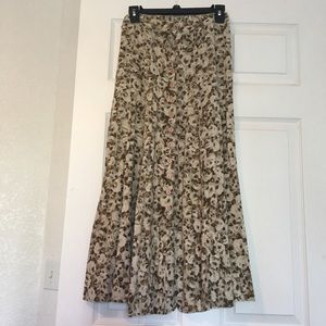 Express brand multi colored skirt medium